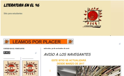 Blog de literatura del Liceo 46