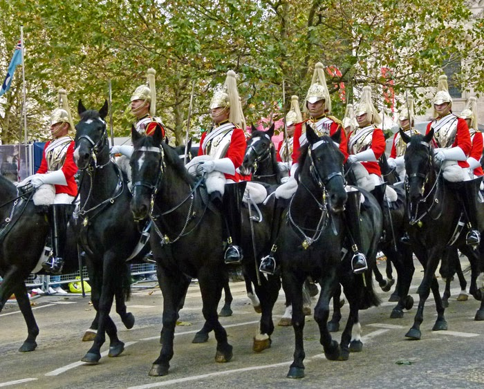 Life Guards, Lord Mayor's Show, London