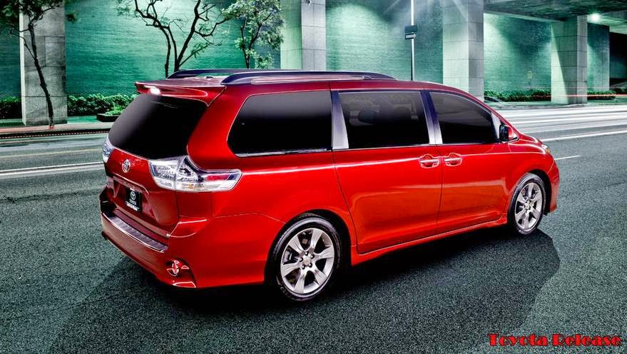 2015 Toyota Sienna Refresh