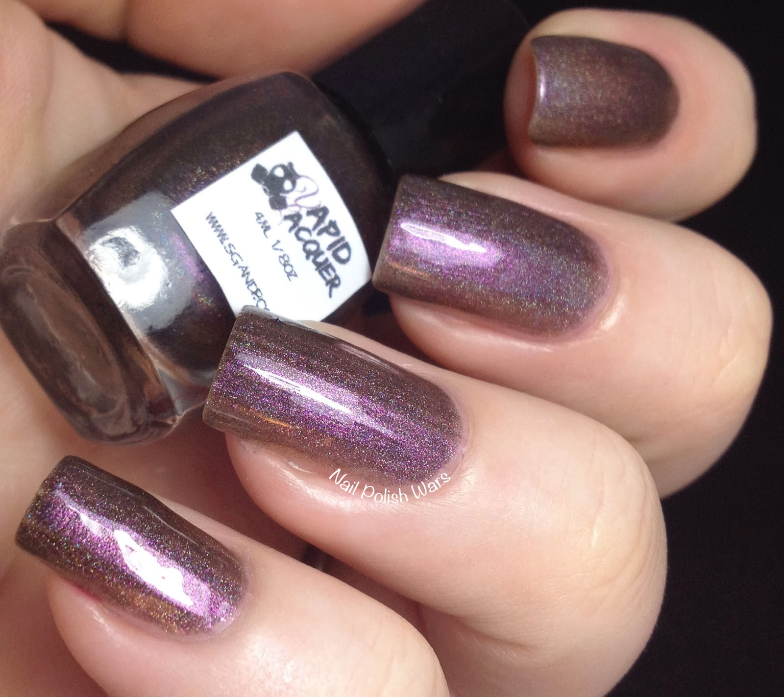 Nail Polish Wars: Vapid Lacquer Swatch & Review