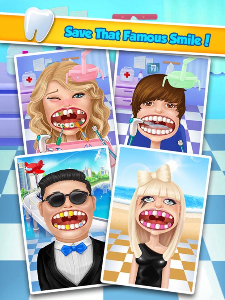 Celebrity Dentist App iTunes App By Bear Hug Media - FreeApps.ws