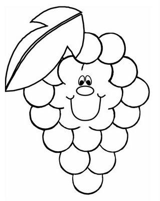 Educacao Infantil Educando Pimpolhos Frutas Para Colorir