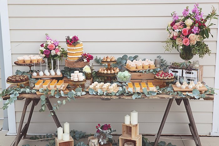 Inexpensive rustic bridal shower decoration bridal wedding and rustic bridal shower junglespirit Choice Image