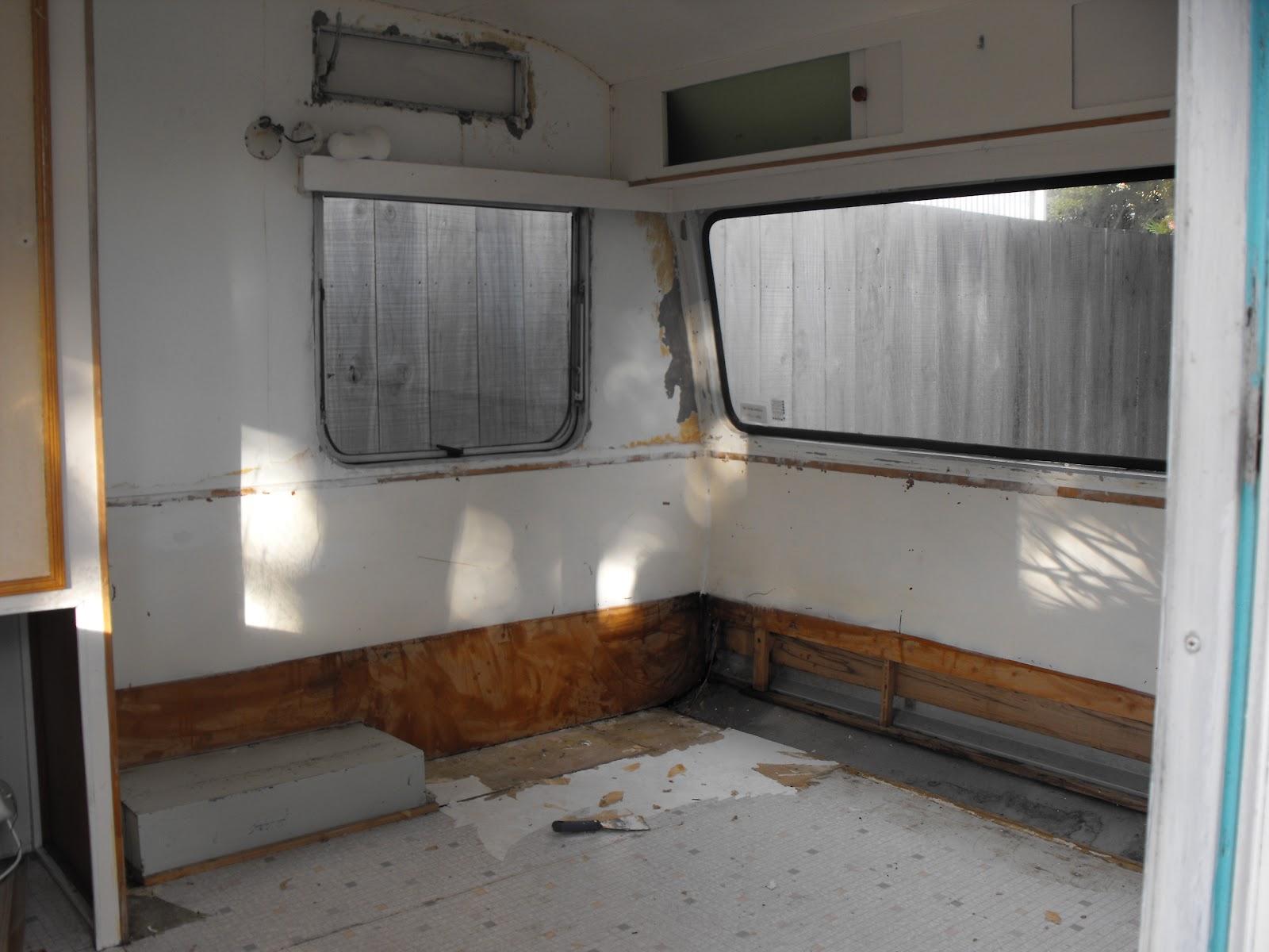 Looters Tuck Caravan Renovations