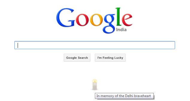 Google tribute to Nirbhaya Amanat