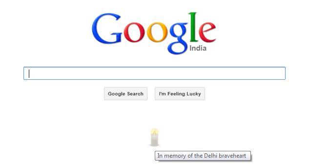 Google tribute to Nirbhaya Amanat