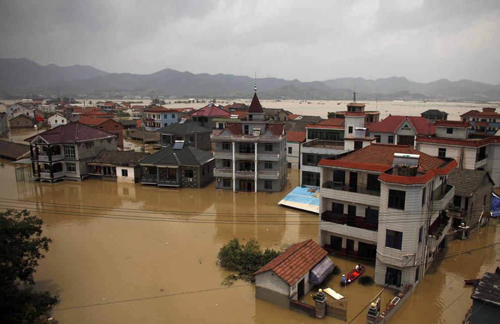 Наводнение и ливни в китае