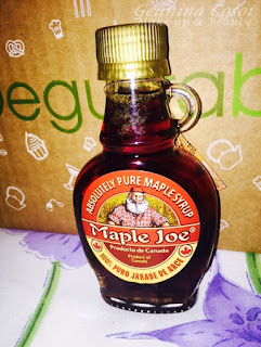 MAPLE JOE DEGUSTABOX OCTUBRE 2015