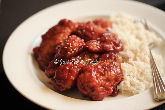 Resep Fire Chicken Wings a la Richeese JTT