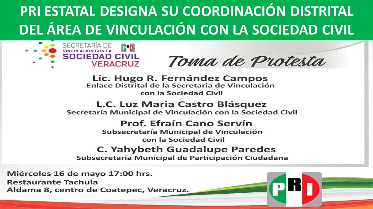DISTRITAL DEL ÁREA DE VINCULACIÓN CON LA SOCIEDAD CIVIL