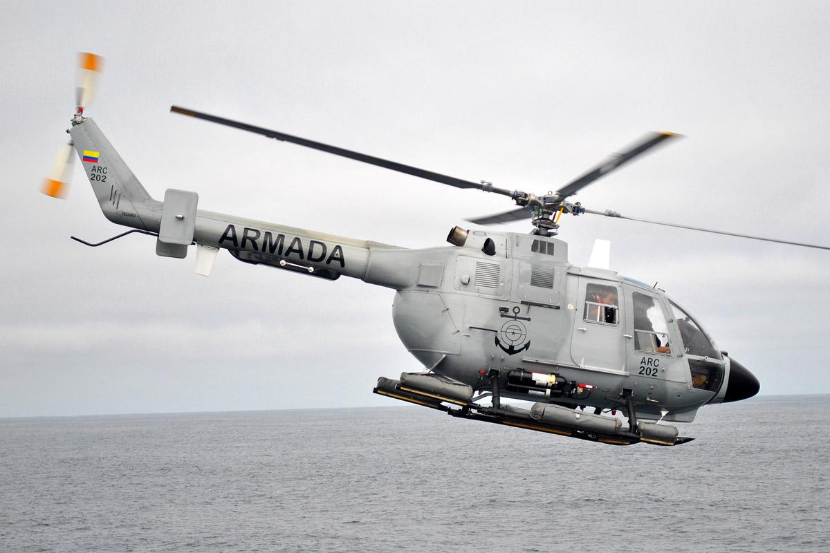 Bolkow BO-105 ARC 202 Armada Colombia