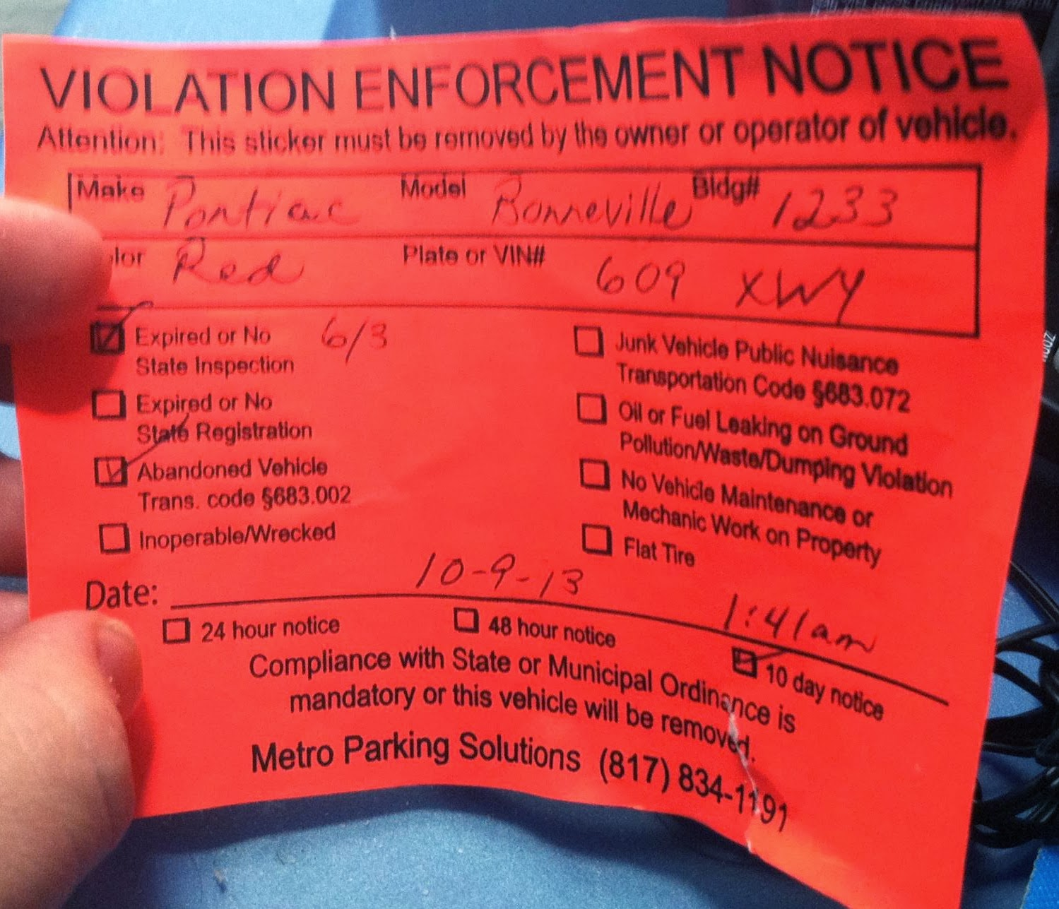 how to pay a bc violation ticket