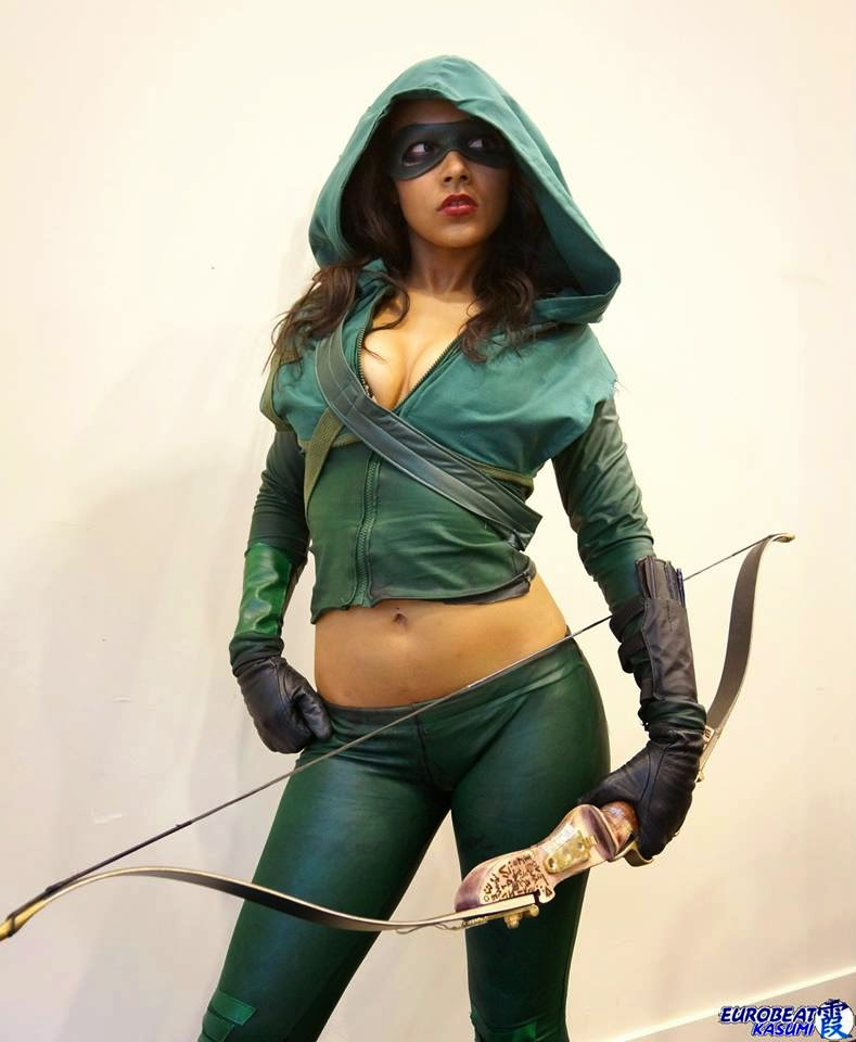 sexy cosplay arrow