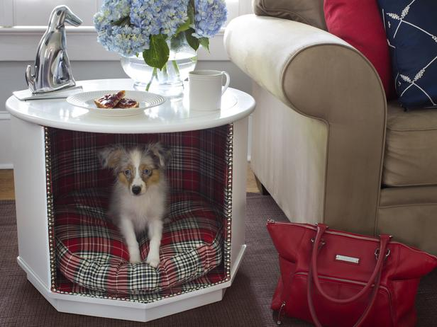 The domestic curator monday make overs combination pet for Dog bed table