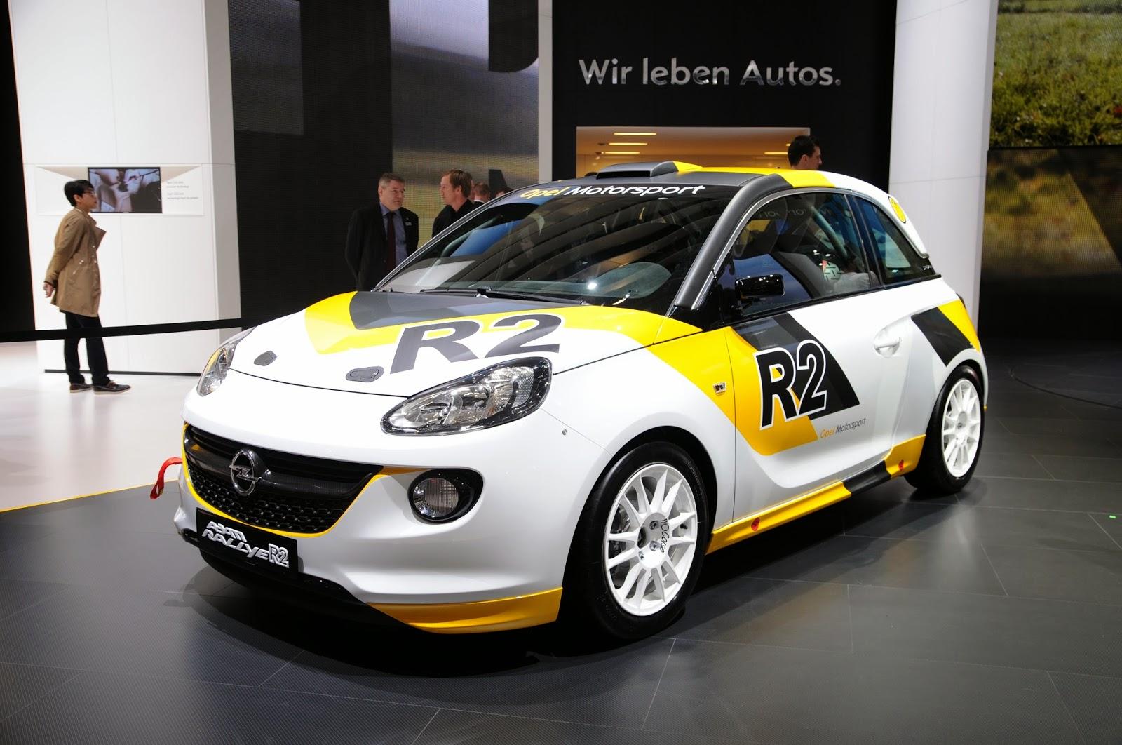 Opel Adam R2 Rallye at the 2013 Geneva Motor Show