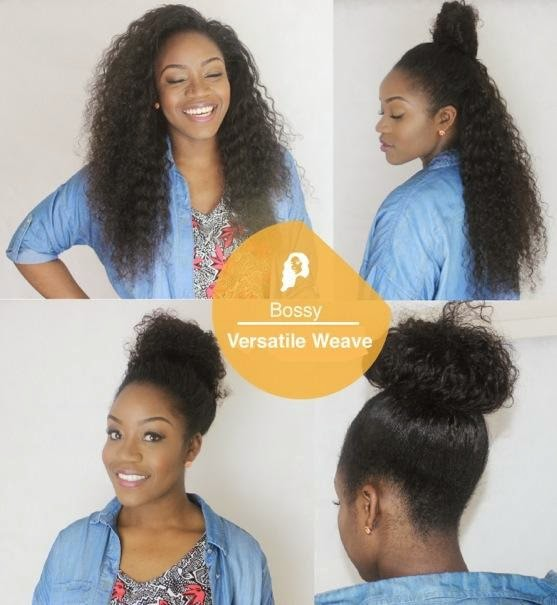 versatile weave hairstyles : Versatile Quick Weave Black Hairstyle and Haircuts
