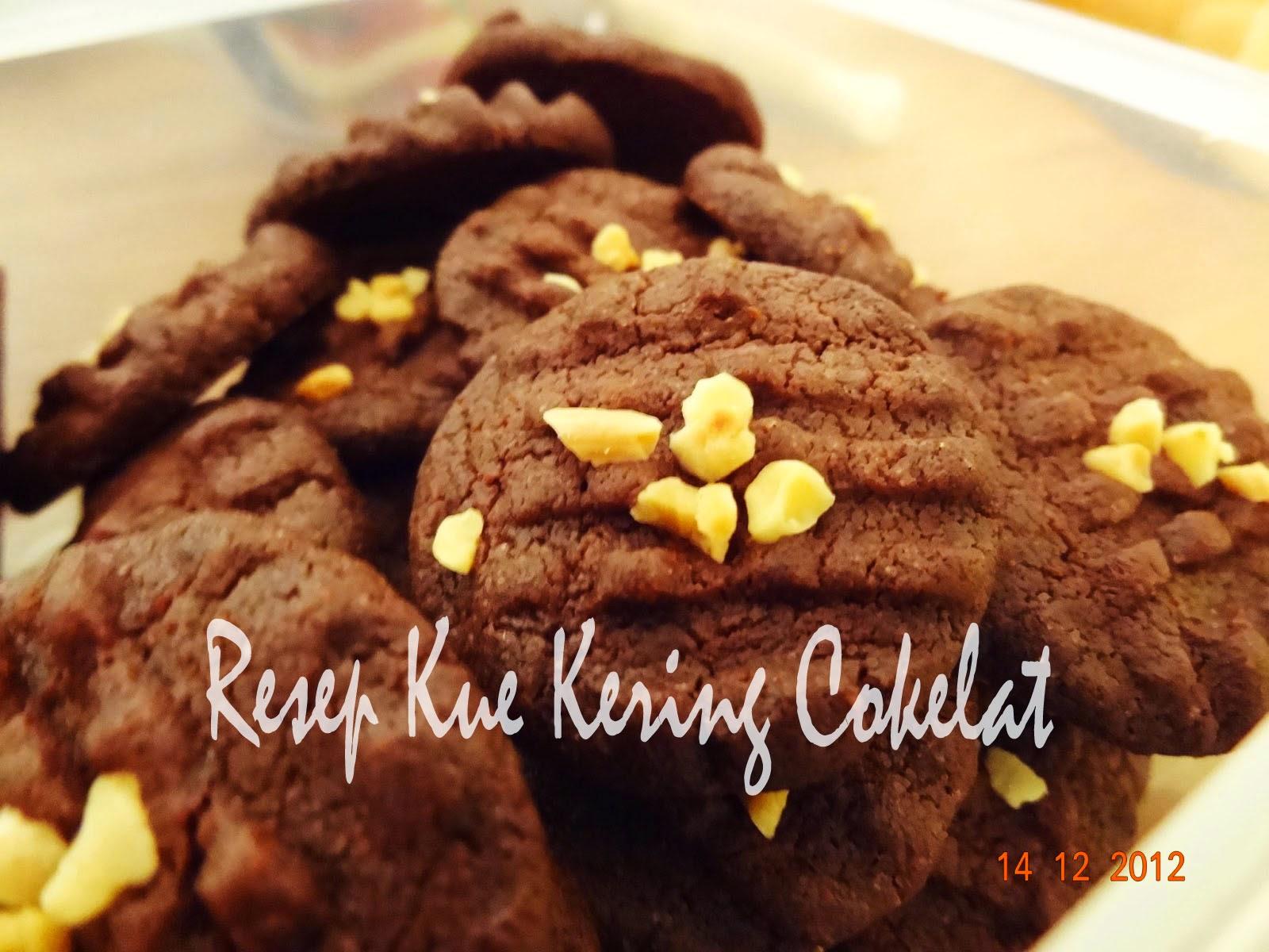 Resep Kue Kering Cokelat Kacang Spesial | Resep Kue Praktis