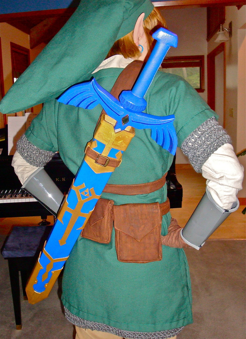 Link cosplay skyward sword completed costume i realized i never really posted any picture of the finished costume baditri Images