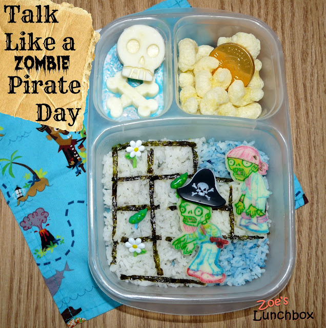Plants Vs Zombies Pirate Bento Lunch