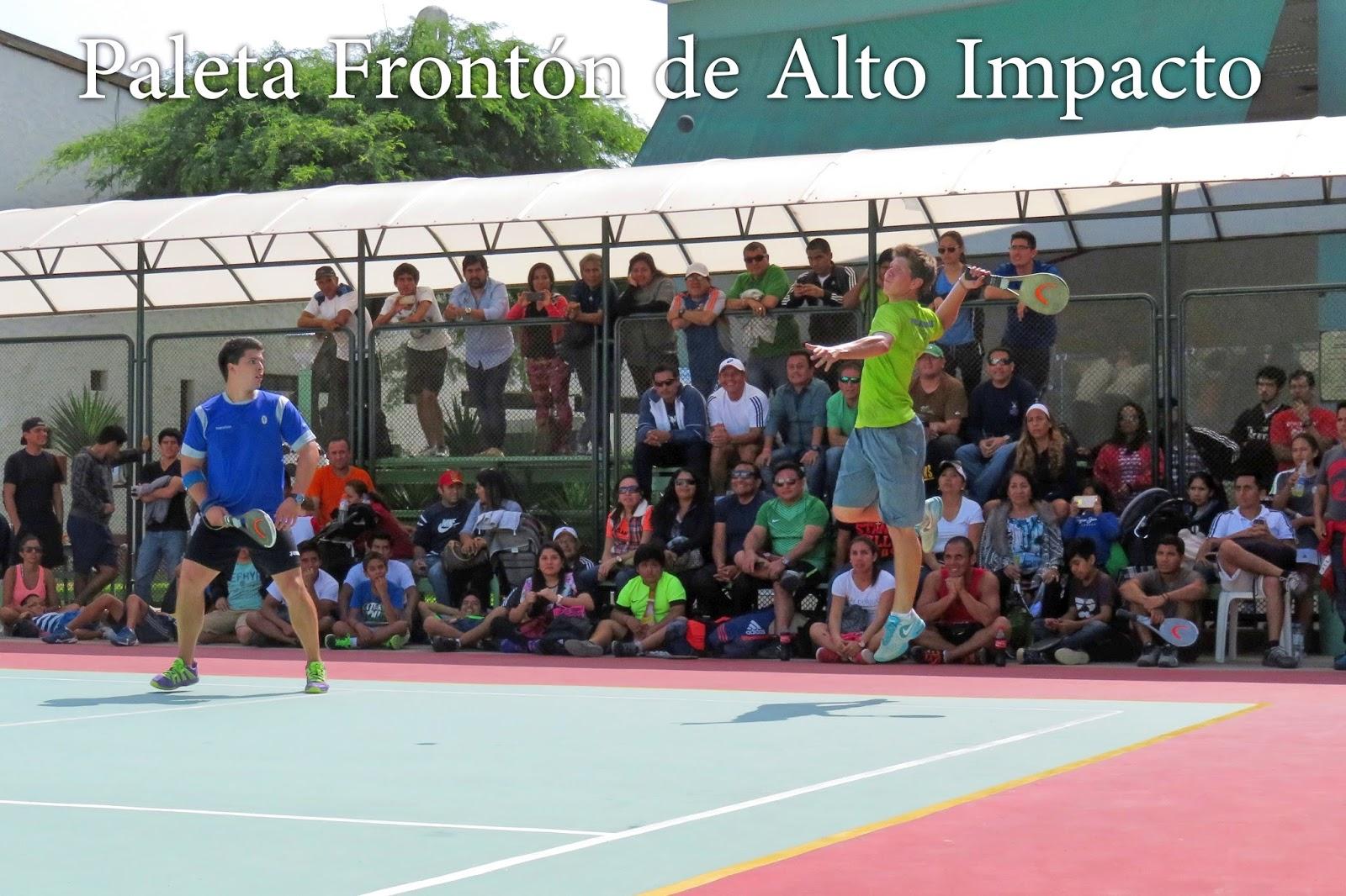 """Armario Odontologico Com Pia ~ Paleta Frontón de Alto Impacto Torneo Fiestas Patrias 2015""""COPA INTERBANK"""""""