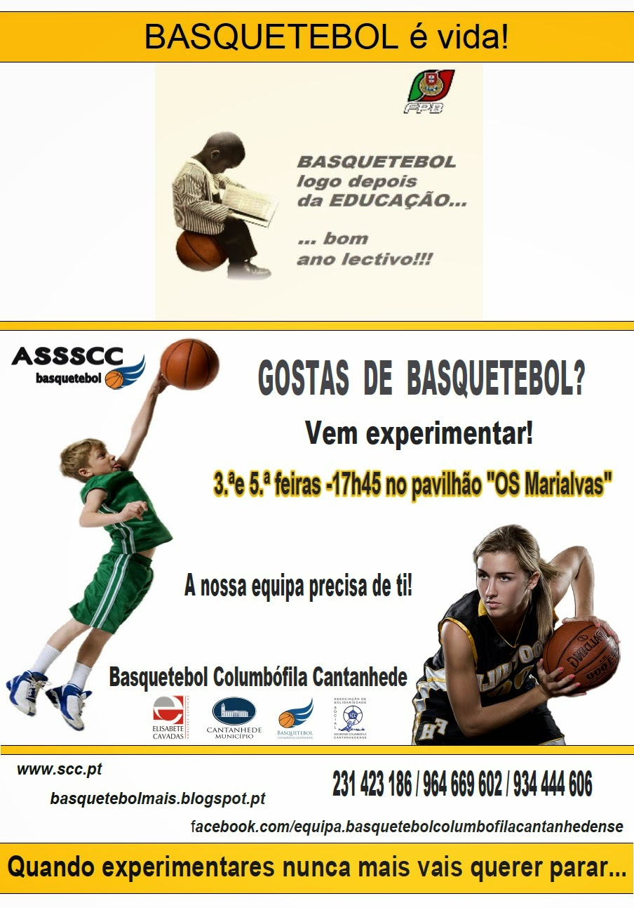 Basquetebol é vida!