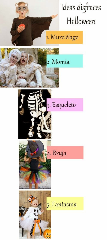 5 ideas de disfraz infantil para Halloween