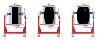 Lancman víznyomásos szőlőprés működési elve