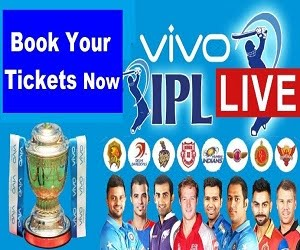 Click to Book VIVO IPL 2017 Tickets Online