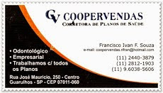 COOPERVENDAS - CORRETORA DE PLANOS DE SAÚDE - GUARULHOS, SP.