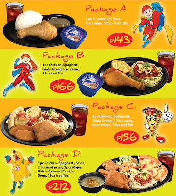 Shakeys Party Package