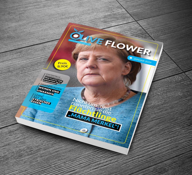 مجلة Olive Flower