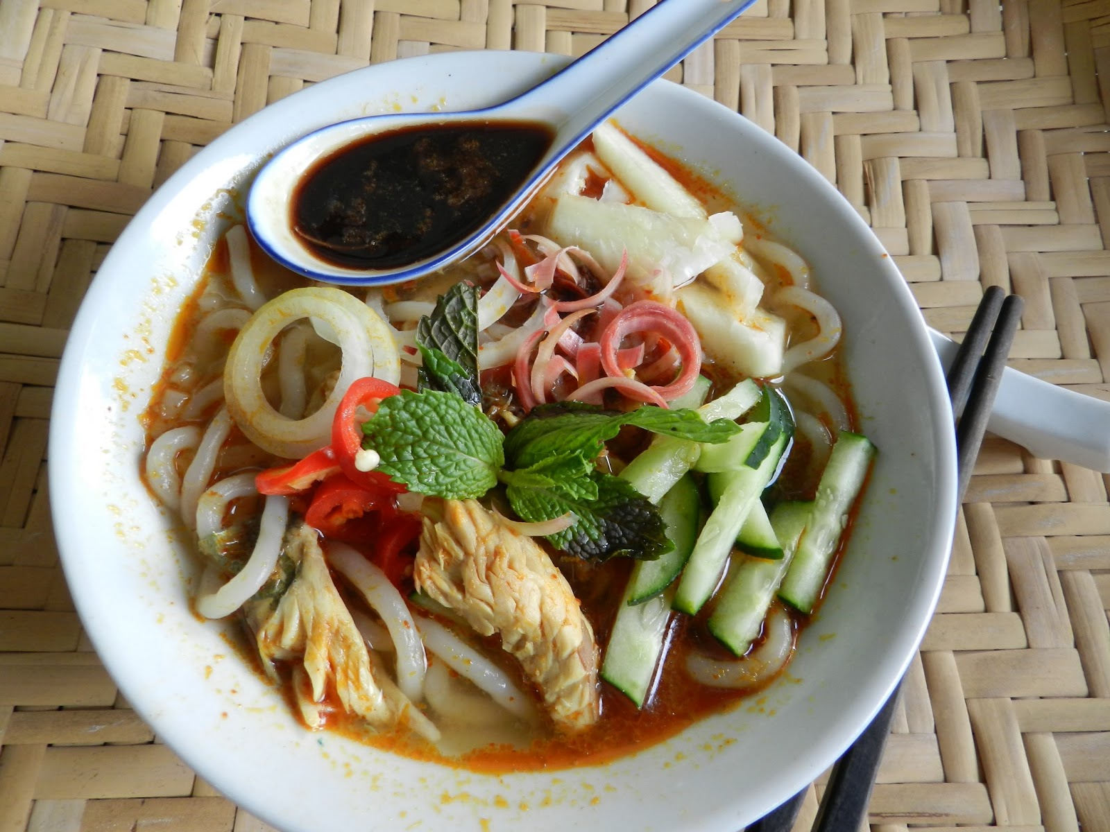 My Grandmother's Penang (Asam) Laksa | The Hungry Australian