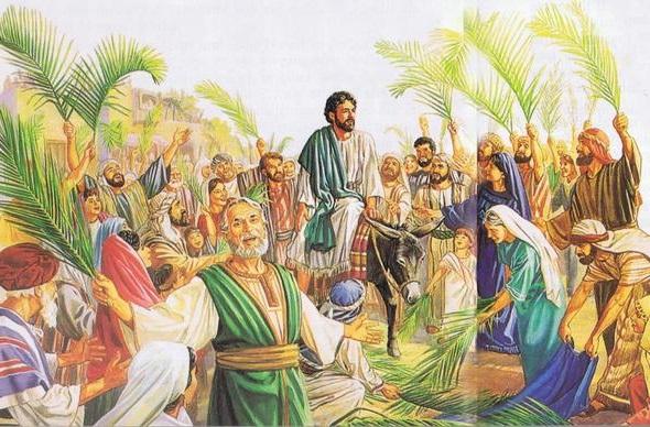 Iisus-vezzhaet-v-Ierusalim