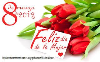 Imagenes De Flores Para El Dia De La Mujer - Imagenes de Corazon con flores del dia de la mujer para el