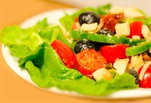 Как делать вкусный салат