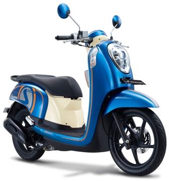 Warna Baru Honda Scoopy-FI