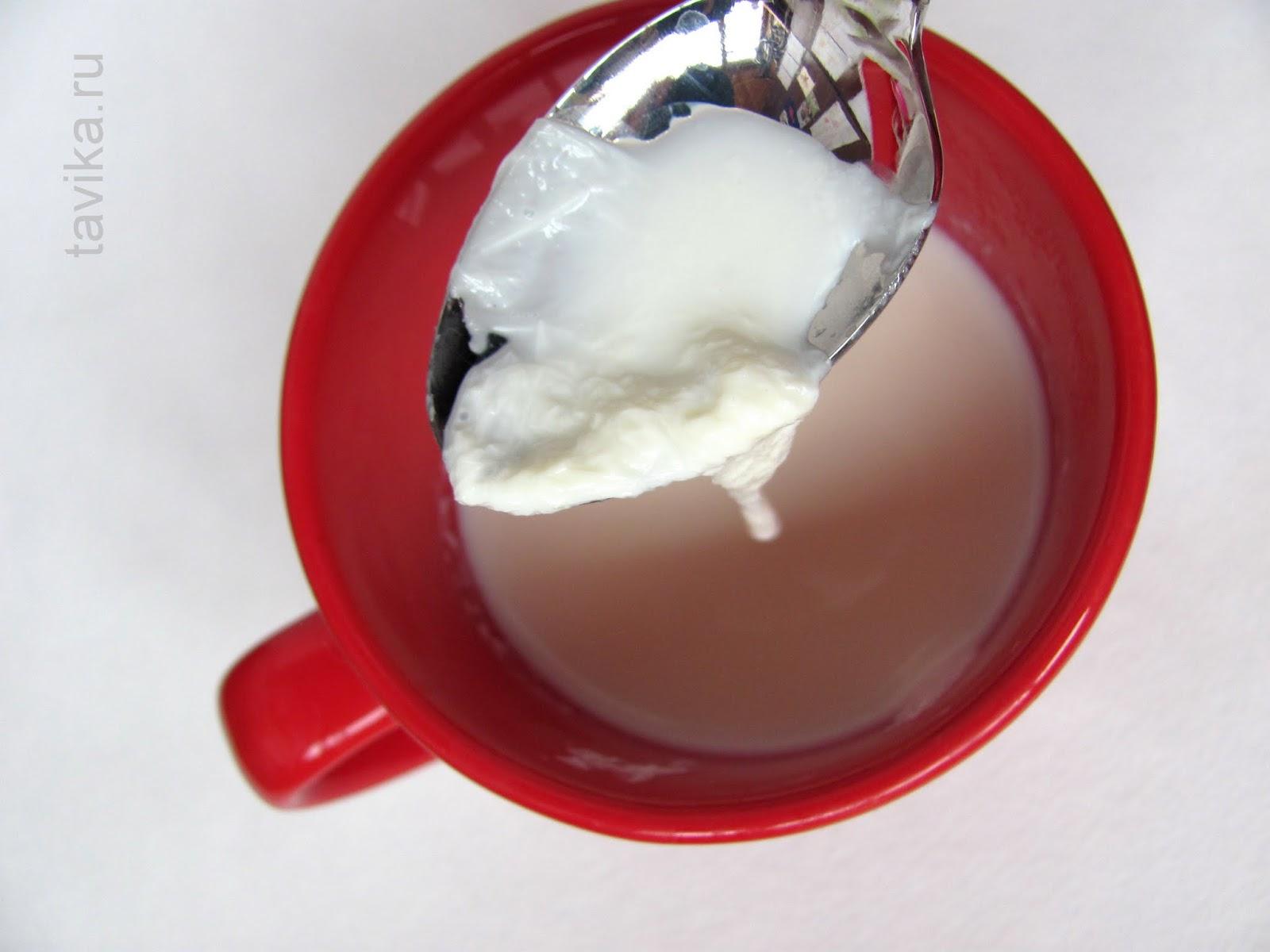 молочная пенка