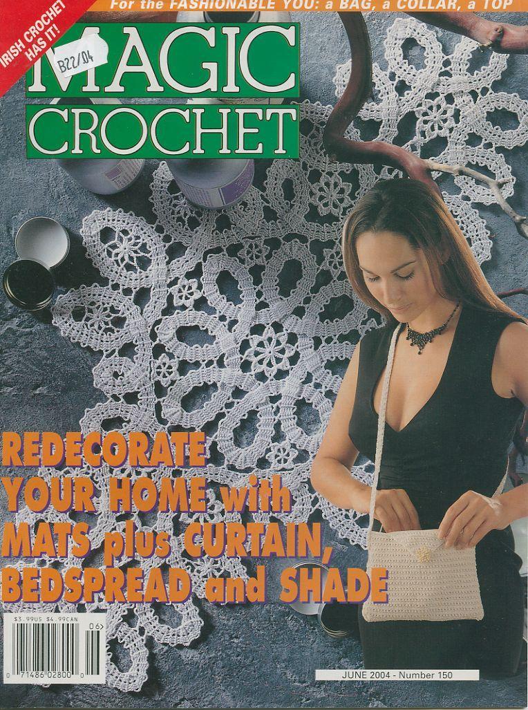 Magic Crochet : Magic Crochet No. 150 ~ Free Crochet Patterns