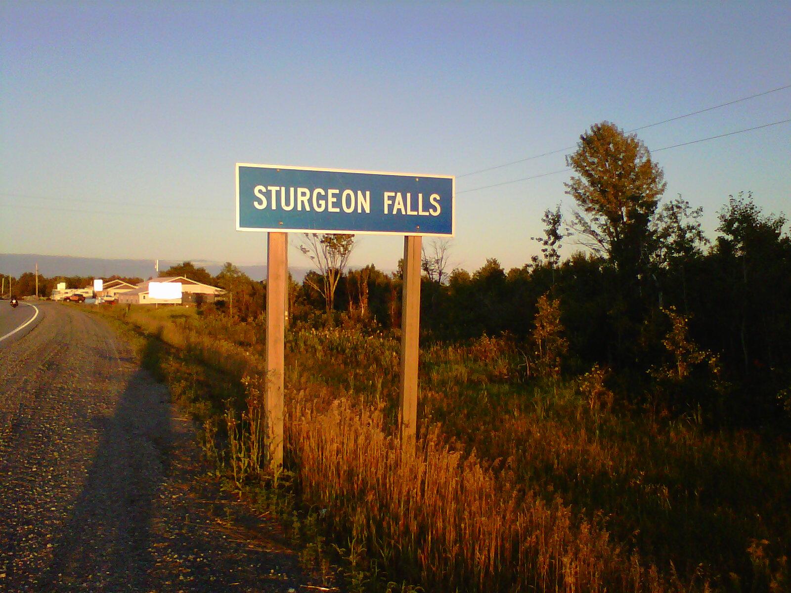 Sturgeon Falls (ON) Canada  city images : GO Jean Canada!: NOUVELLES DE STURGEON FALLS, WEST NIPISSING, ON.