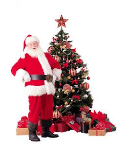 Sinterklas dan Pohon Natal