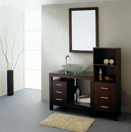 Muebles modernos para el ba o con espejos ba os y muebles - Muebles de cuarto de bano modernos ...