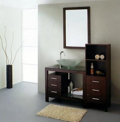 Muebles modernos para el ba o con espejos - Muebles de espejos ...