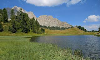 Lac Miroir 2214 m