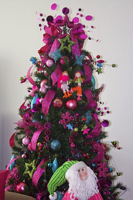 imagen de tierna navidad de colores