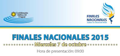 Pista - Pintó Deporte Atletismo - Finales de Educación Media (Montevideo, 07/oct/2015)