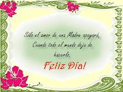 Feliz Día de las Madres (de mayo )