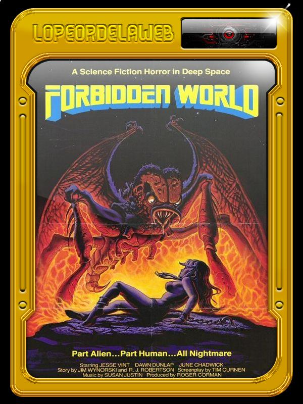 Forbidden World | Mutante, Mundo Prohibido (1982) Dual, Mega
