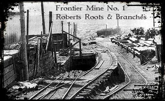 Frontier No. 1 Mine portal