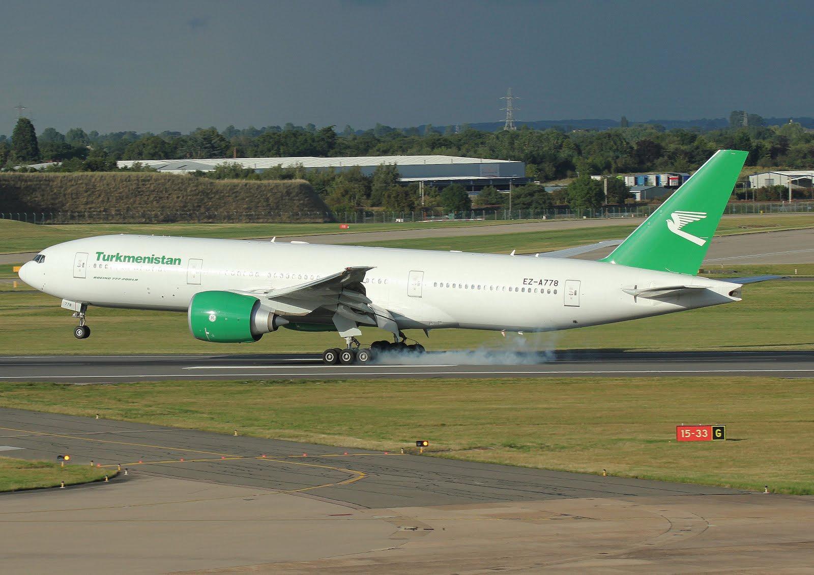 Boeing 772 TURKMENISTAN