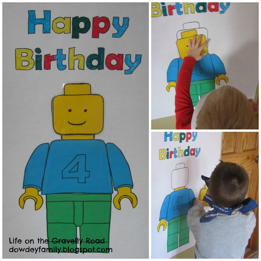 Life On The Gravelly Road: A LEGO Birthday